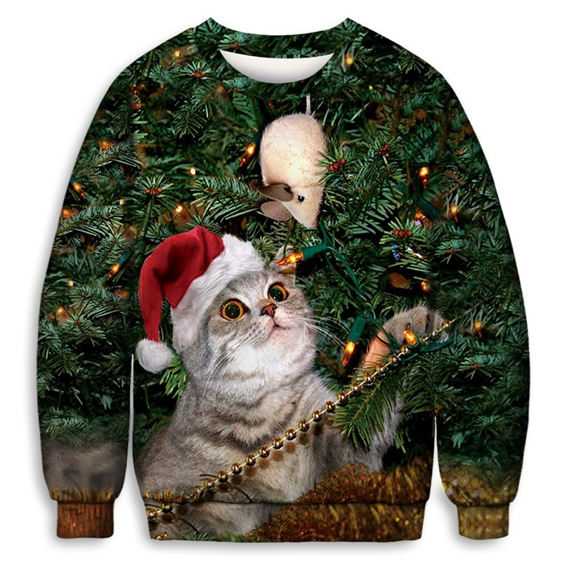 Cat & Mouse Sweater