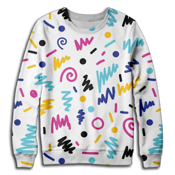 Retro Bright Sweatshirt