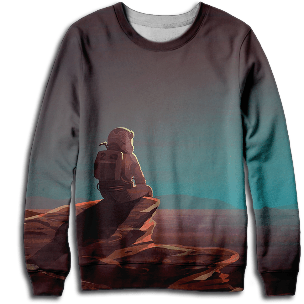 Mars Man Sweatshirt