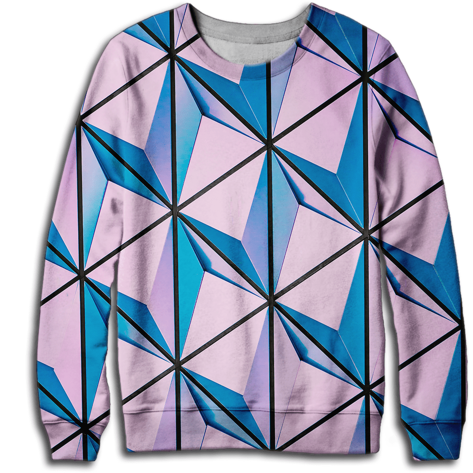 Pink Illusion Sweatshirt