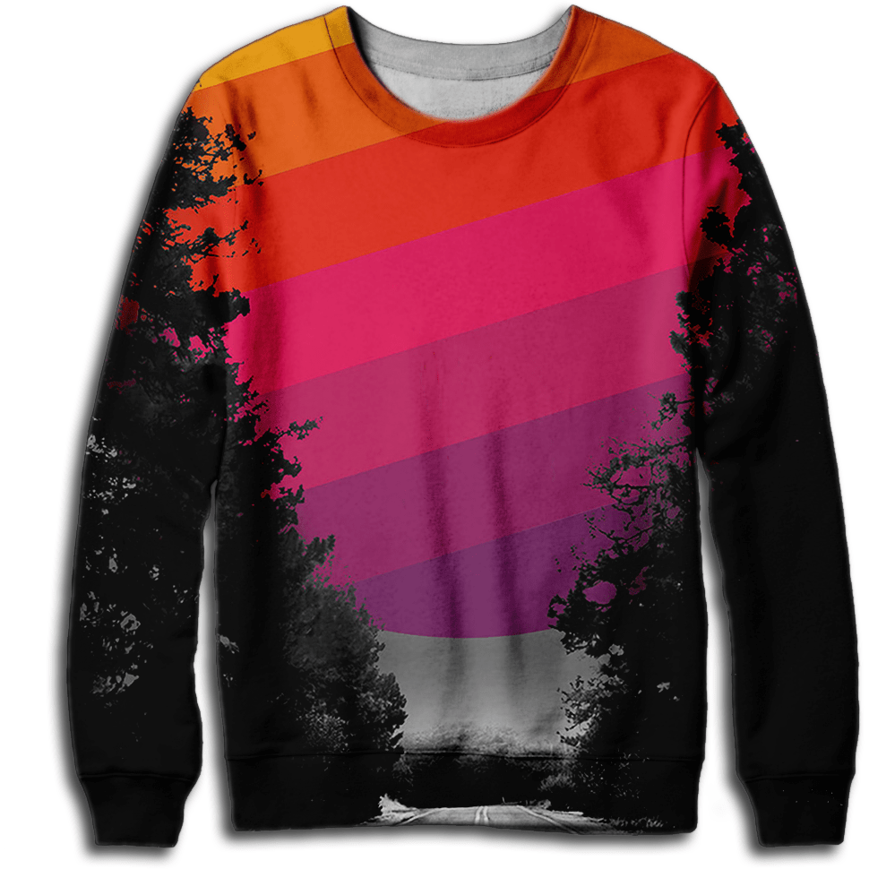 Retro Road Sweatshirt