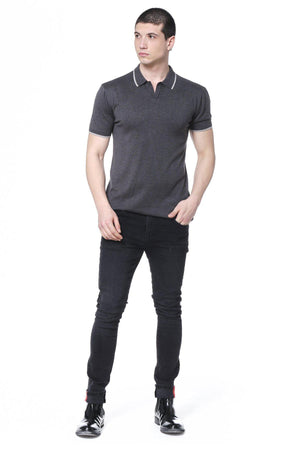 Perfect Rhythm Anthracite Polo Shirt