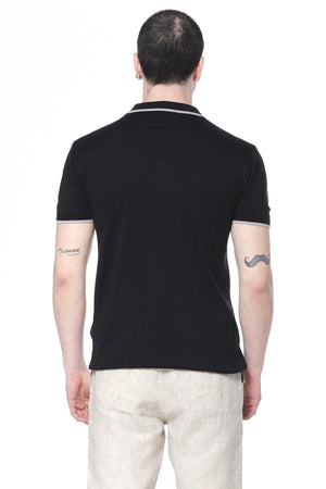 Midnight Perfection Black Polo Shirt