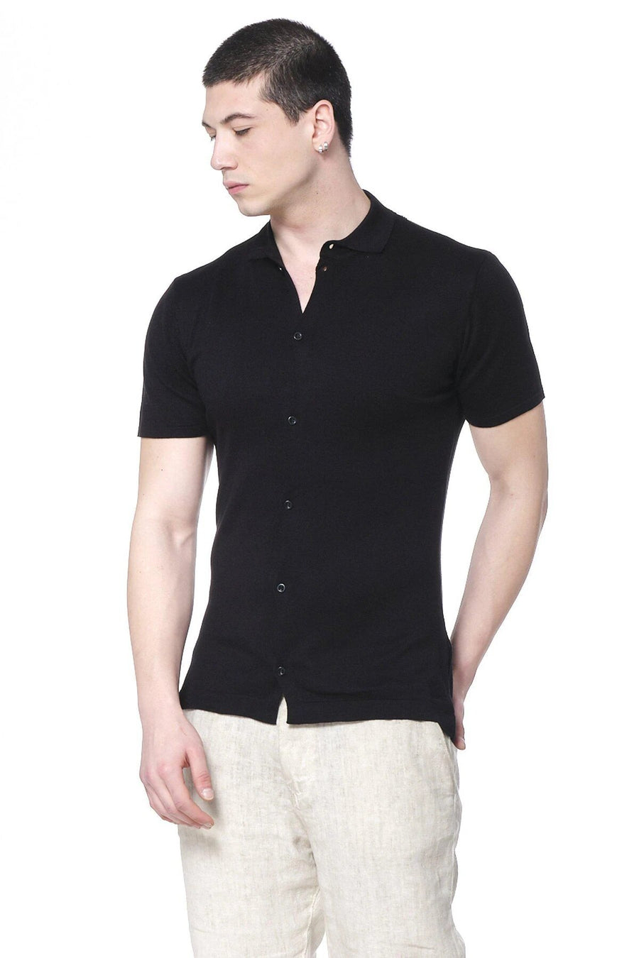 Wicked Chance Black Polo Shirt
