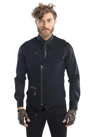 Twilight Zone Slim Black Vest