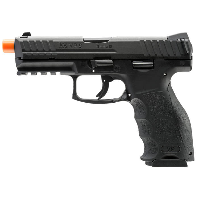 Elite Force HK VP9 CO2 Half Blowback Airsoft Pistol - Black - ssairsoft