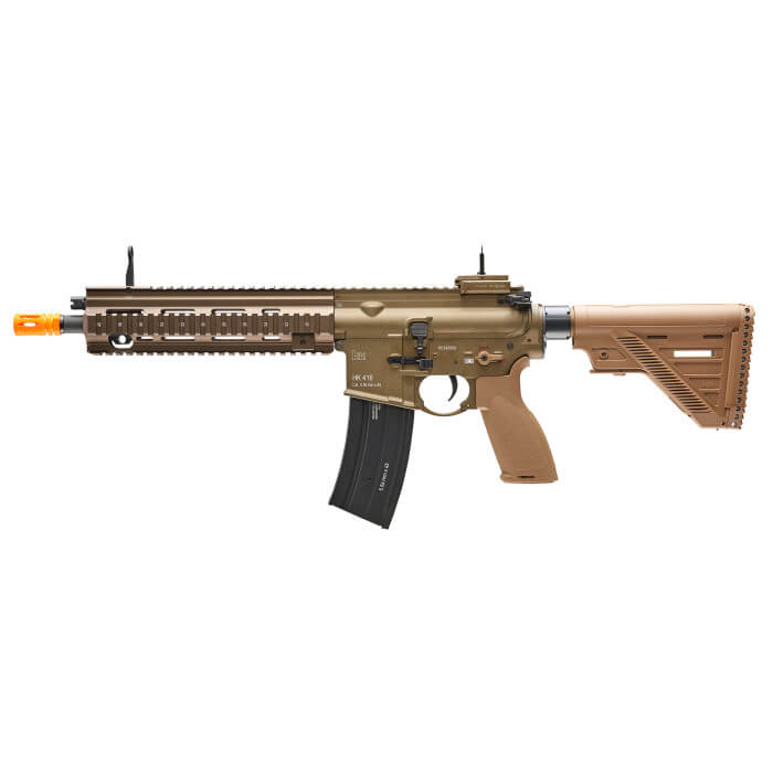 H&K HK416 Full Size Airsoft AEG Rifle Package by Umarex FDE - ssairsoft