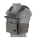 LANCER TACTICAL ASSAULT RECON PLATE CARRIER (GRAY) - ssairsoft