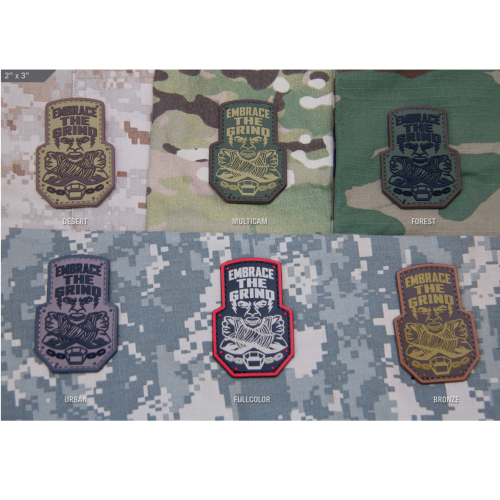 Embrace The Grind Patch Bronze - ssairsoft