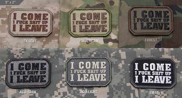 I come... Patch Multicam