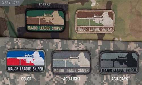 Major League Sniper Full color - ssairsoft