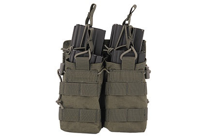 Bungee Double mag pouch OD - ssairsoft