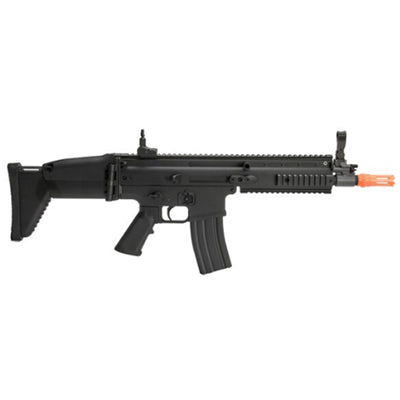 FN Licensed SCAR-L Airsoft Airsoft electric Rifle by Cybergun - Black - ssairsoft