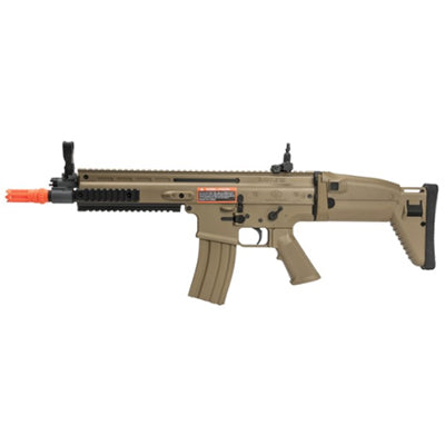 FN Licensed SCAR-L Airsoft Airsoft Electric Rifle by Cybergun Desert - ssairsoft