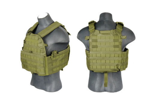 Plate Carrier vest Green - ssairsoft