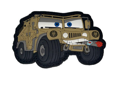 CARS Humvee Patch