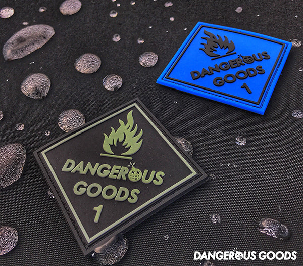 Dangerous goods PVC patch