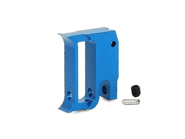 "Airsoft Masterpiece Edge ""T1"" Trigger for Hi-Capa/1911 Blue - ssairsoft"