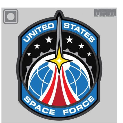 Space Force Full Color Patch - ssairsoft