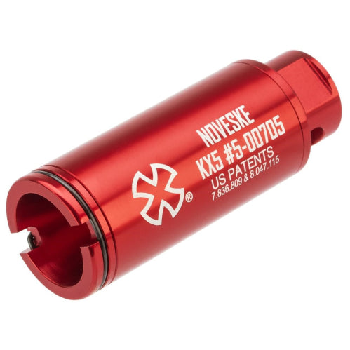 Noveske Flash Hider w/ Built-In ACETECH Lighter S Ultra Compact Rechargeable Tracer-KX5 RED - ssairsoft