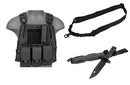 Body Gear Package Black - ssairsoft