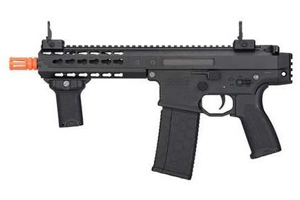 "Lancer Tactical Warlord 8"" CQB Type C LFPS (Black) - ssairsoft"