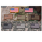 US Flag Patch Full Grey - ssairsoft
