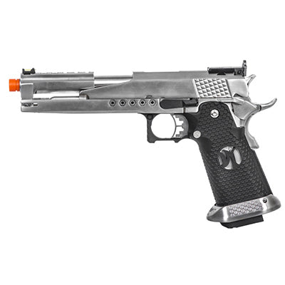 AW Custom Gold Standard IPSC - Silver - ssairsoft