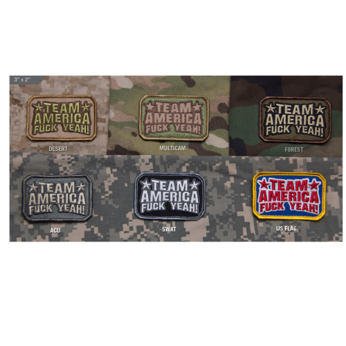 Team America Patch Multicam