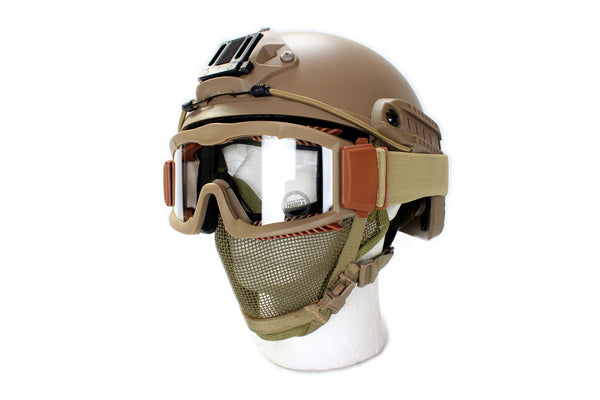 Head Gear Package Tan - ssairsoft