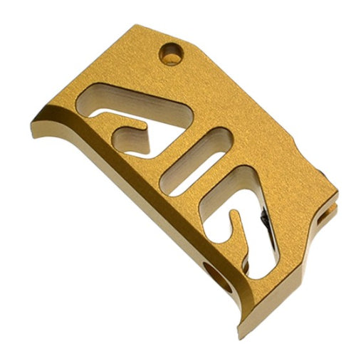 CowCow Airsoft Aluminum Trigger For Tokyo Marui Hi-Capa GBB T2-Gold - ssairsoft