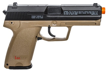 Umarex H&K USP Full Size CO2 Non-Blowback Airsoft Pistol - ssairsoft