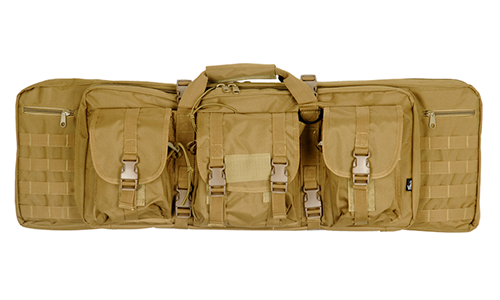 "Molle Double Gun bag 36"" Tan - ssairsoft"
