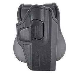 Cytac Concealable Hard Shell Holster for Glock [G19, G23, G21] (BLACK) - ssairsoft