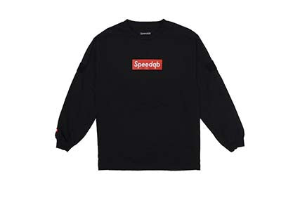 Speedqb box logo t black sm - ssairsoft