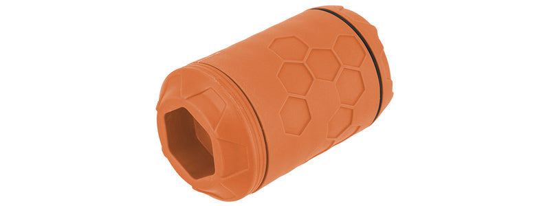ERAZ Rotative 100BBs Grenade-Orange - ssairsoft