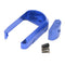 ATLAS CUSTOM WORKS HIGH SPEED MAGAZINE WELL FOR G17 PISTOLS (BLUE) - ssairsoft