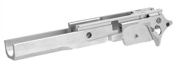 Airsoft Masterpiece Steel Frame for Hi-Capa/1911 Pistols (SILVER) - ssairsoft