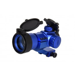 Lancer Tactical Red & Green Dot Cantilever Prism Scope (Blue) - ssairsoft
