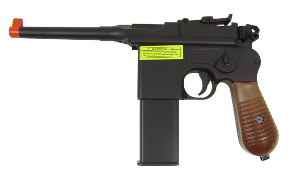 Well G196 Co2 Blowback Mauser Pistol - ssairsoft