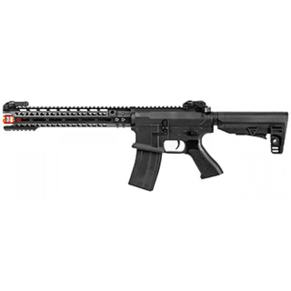 "JG Golden Eagle E6598 12"" M4 AEG Rifle (Black) - ssairsoft"