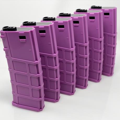 Lonex 200rd M4 Midcap Purple 6 pack