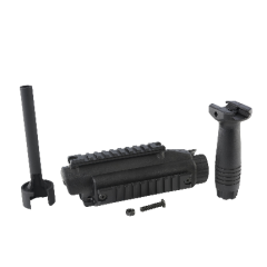 Elite Force H&K Railed Handguard Kit w/ Metal Outer Barrel & Vertical Grip for MP5