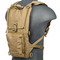 Lancer Tactical 1000D NYLON LIGHTWEIGHT HYDRATION BACKPACK TAN - ssairsoft