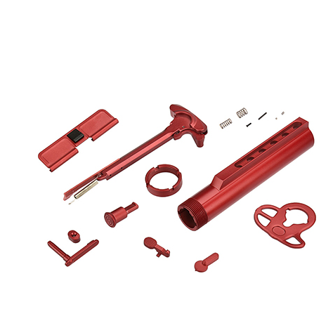 External Part Set for Proline series (RED)