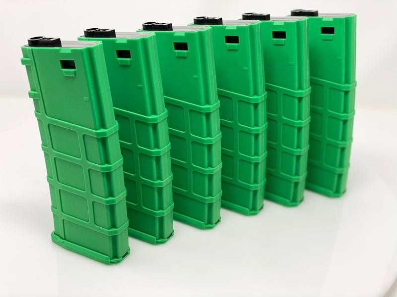 Lonex 200rd M4 Midcap Green 6 pack