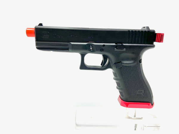 Custom VFC Glock 17 by SS AIrsoft Black/Red - ssairsoft