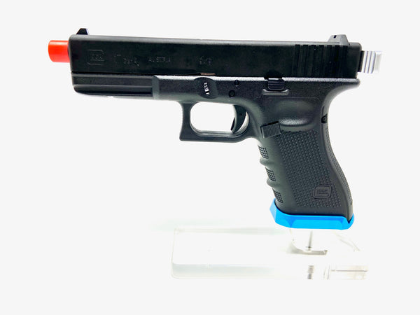 Custom VFC Glock 17 by SS AIrsoft Black/Blue/Silver - ssairsoft