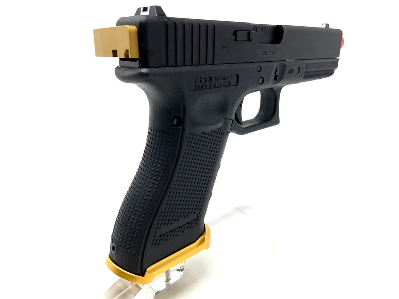 Custom VFC Glock 17 by SS AIrsoft Black/Gold - ssairsoft