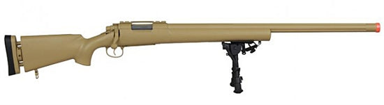 Echo1USA M28 Bolt Action Sniper Rifle - Gen. 2 Tan - ssairsoft